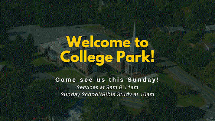Welcome. Sunday worship services 9 and 11, small group Bible study at 10
