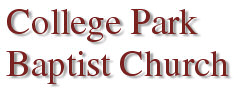 College Park Baptist Church home page