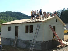 Mt. Outreach Monday: house under roof